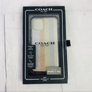 New ! COACH CASE IPHONE PRO 11